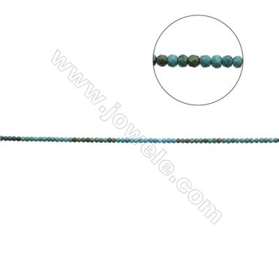 Mix Color Natural Turquoise Beads Strand  Faceted Abacus  5x6mm  Hole 0.6mm  about 81 beads/strand  15-16""