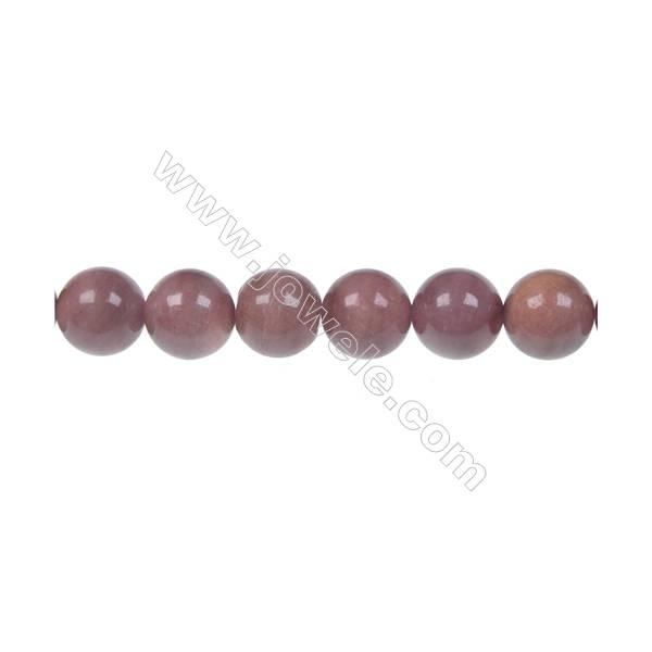 African blood stone /blood jasper round strand beads, Diameter 10 mm, Hole 1.5 mm, 40 beads/strand 15 ~ 16''