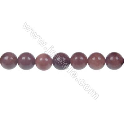 African blood jasper round strand beads, Diameter 8 mm, Hole 1.2 mm, 50 beads/strand 15 ~ 16''