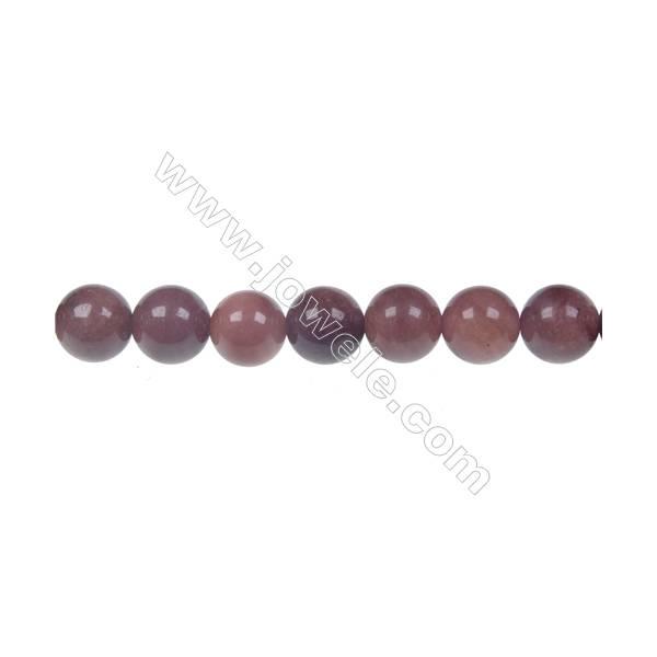 African blood jasper round strand beads, Diameter 8 mm, Hole 1.2 mm, 50 beads/strand 15 ~ 16''