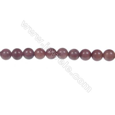 African blood jasper round beaded strand, Diameter 6 mm, Hole 1 mm, 68 beads/strand 15 ~ 16''