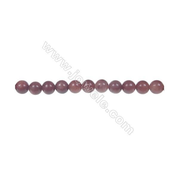 African blood jasper round strand beaded, Diameter 4 mm, Hole 1 mm, 94 beads/strand 15 ~ 16''