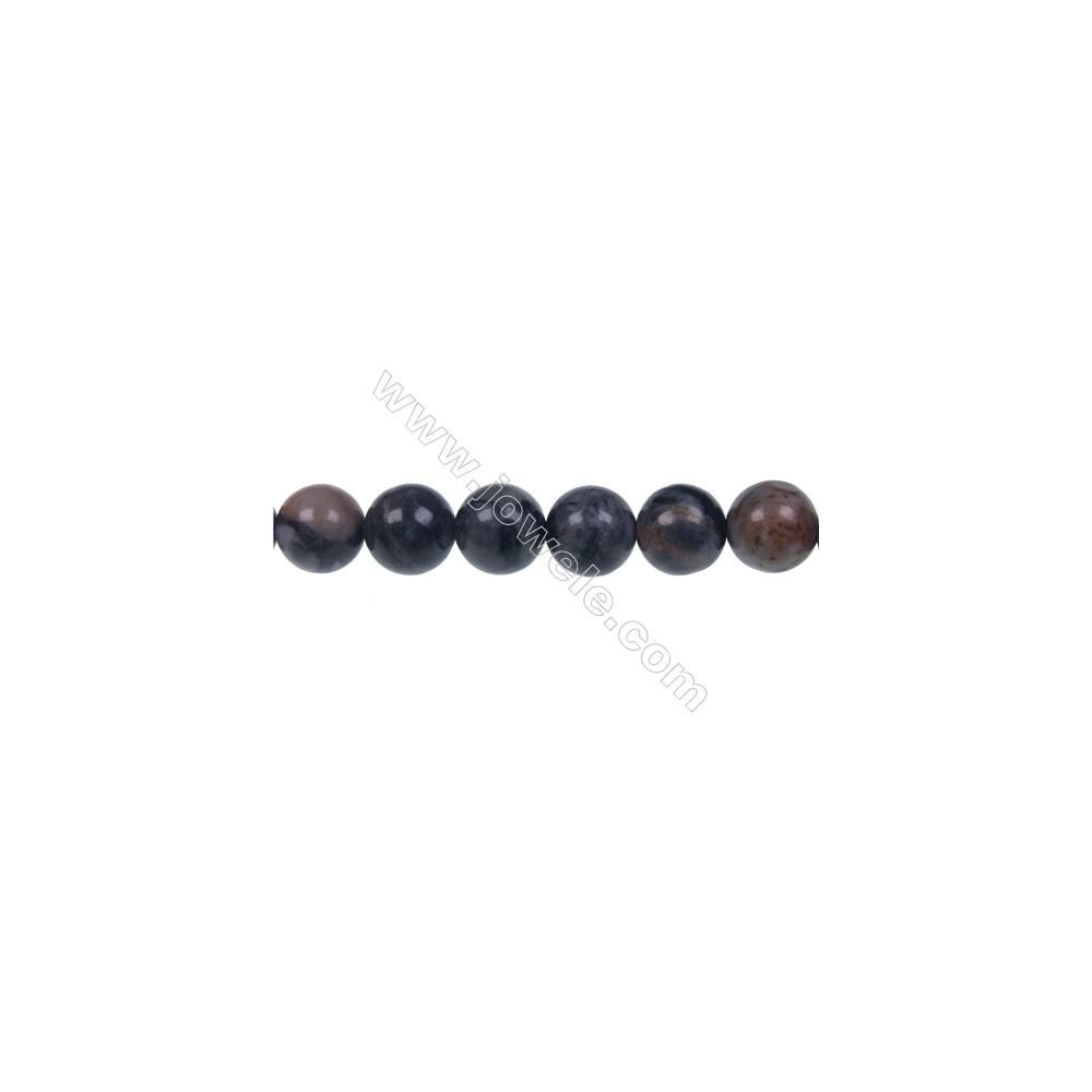 Round Picasso jasper  strand beads, Diameter 10 mm, Hole 1.5 mm, 41 beads/strand 15 ~ 16''