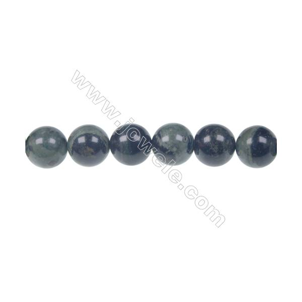 Fashion semiprecious stone 8 mm Kambaba Jasper strand beads for jewelry making, Hole 1 mm, 48 beads/strand, 15~16""