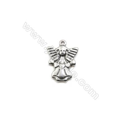 304 Stainless Steel Pendant  Figure  Size 15x18mm  100pcs/pack