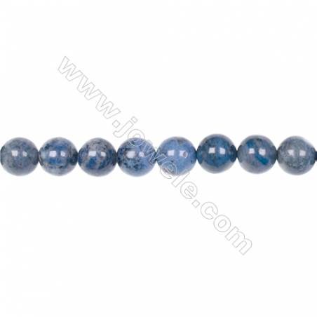 AA quality dumortierite 10mm round strand beads for jewelry making  hole 1.5mm  39 beads/strand  15~16''