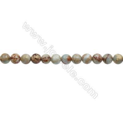Natural Serpentine Round Beads Strand  Diameter 12mm  Hole 1.2mm  about 33 beads/strand 15~16""