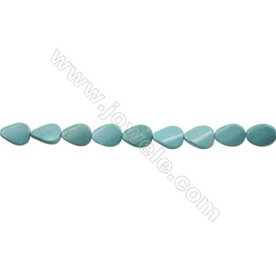 Howlite Teardrop Beads Strand  Dyed  Size 15x20mm  Hole 1mm  about 20 beads/strand 15~16""