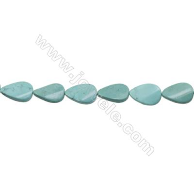 Howlite Teardrop Beads Strand  Dyed  Size 20x30mm  Hole 1mm  about 13 beads/strand 15~16""
