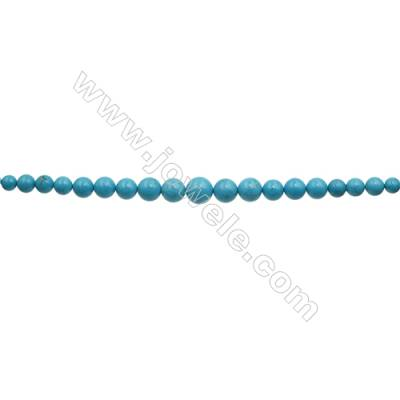 XinJiang Turquoise Tower Chain  Dyed   Size 8.5~18mm  Hole 0.8mm   15~16inch