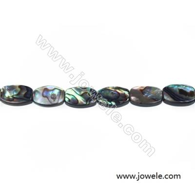 Abalone/Paua shell barrel shaped strand beads, Size 10x14 mm, Hole 0.8 mm, about 28 beads/strand, 15 ~ 16''