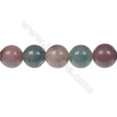 Wholesale high quality fashion DIY loose beads Indian agate fancy jasper 10mm beads  hole 1 mm  39 beads/strand  15~16''