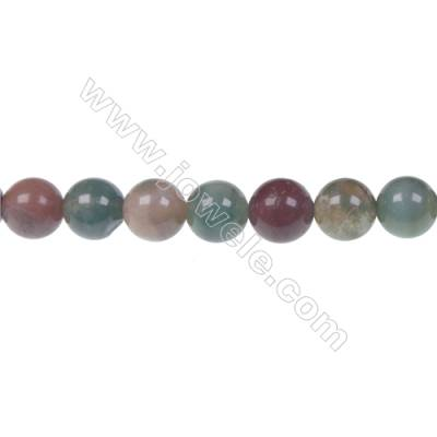 Wholesale high quality fashion DIY loose beads Indian agate fancy jasper 8mm beads  hole 1mm  48 beads/strand  15~16""