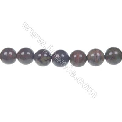 Rainforest agate round strand beads in diameter 10mm  hole 1mm  39 beads/strand  15~16''