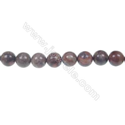 Wholesale rainforest agate round strand beads in diameter 8mm  hole 1mm  48 beads/strand  15~16''