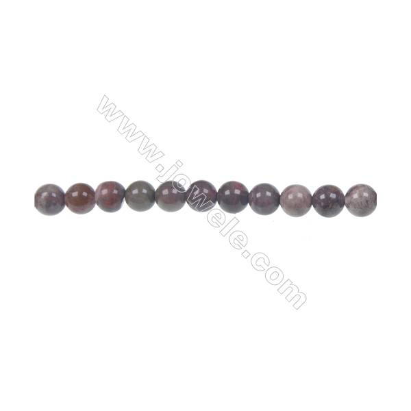 Rainforest agate round strand beads in diameter 6mm  hole 1mm  64 beads/strand  15~16''