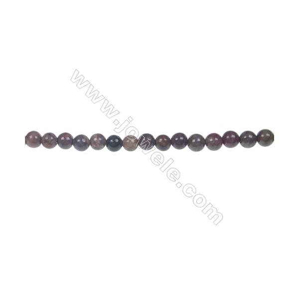Rainforest agate round strand beads in diameter 4mm  hole 0.8mm  96 beads/strand  15~16''