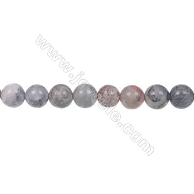 Sky eye jasper loose beads, Round, Diameter 4mm, Hole 1mm, 64 beads/strand, 15~16""