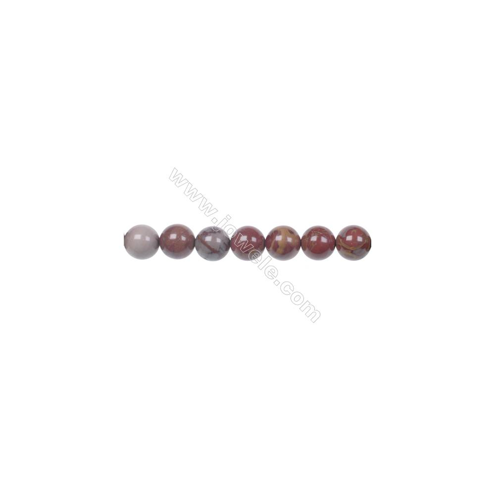 "10mm Noreena jasper strand beads  hole 1mm  41 beads/strand 15~16"""