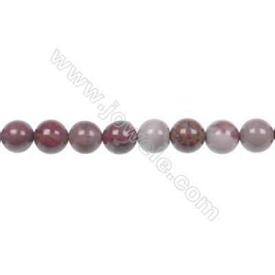 8mm Noreena jasper strand beads  hole 1mm  50 beads/strand 15~16""