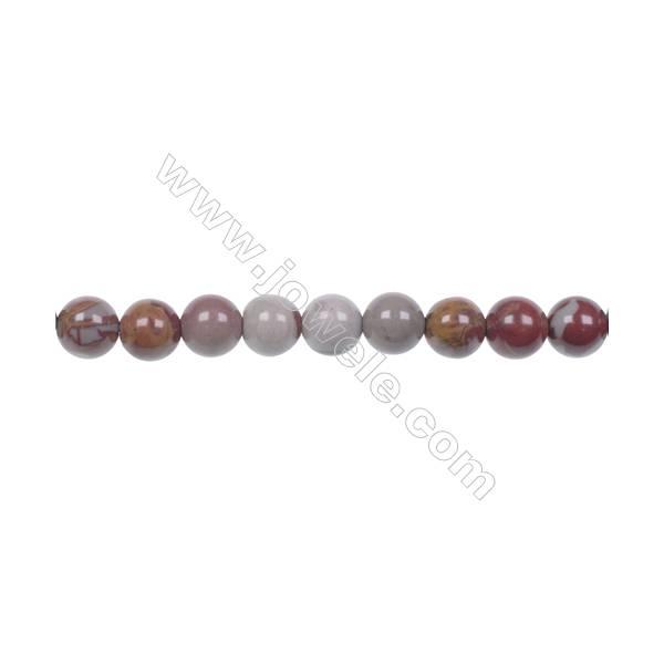 "6mm Noreena jasper strand beads  hole 1mm  66 beads/strand 15~16"""