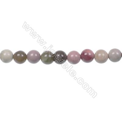Multi-color 6mm round Imperial Jasper loose beads for Womens DIY Bracelets Necklace Making  hole 1mm  65 beads/ strand  15~16''