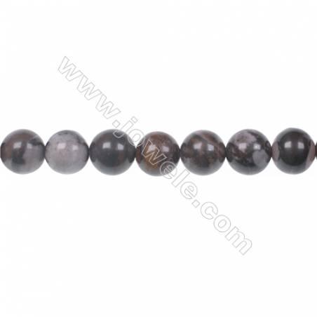 "Natural Outback Jasper gemstones round strand beads, Diameter 8mm, Hole 1mm, 49 beads/strand, 15~16"""