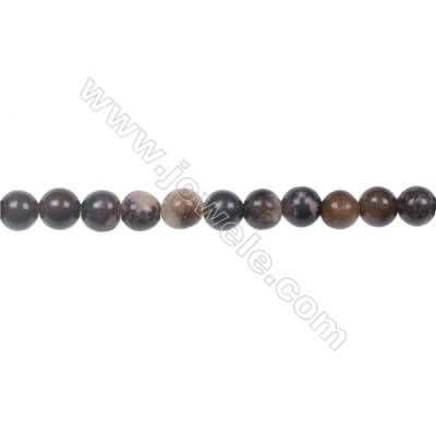 Natural Outback Jasper gemstones round strand beads, Diameter 4mm, Hole 0.8mm, 99 beads/strand, 15~16""