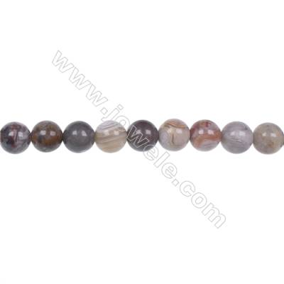 Wholesale 6mm laguna lace agate round beads hole 1mm  64 beads/strand  15~16''
