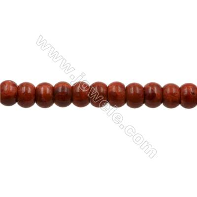 Sponge Coral Beads Strand  Abacus  11x17.5mm  Hole 1mm  about 25 beads/strand  15-16""