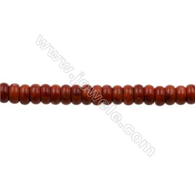 Sponge Coral Beads Strand  Abacus  6x12.5mm  Hole 1mm  about 60 beads/strand  15-16""
