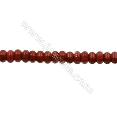 Sponge Coral Beads Strand Faceted  Abacus  8x13mm  Hole 1mm  about 50 beads/strand  15-16""