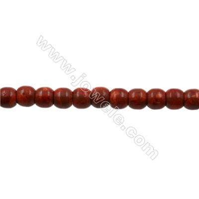 Sponge Coral Beads Strand  Barrel  12x14mm  Hole 1mm  about 32 beads/strand  15-16""