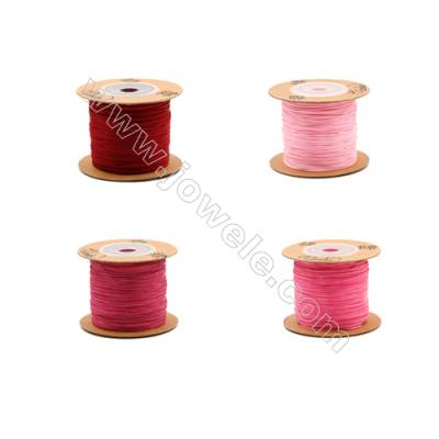 Braided Wire Nylon Threads  Red 71 Series  Wire Diameter 0.5mm 165 Meters / Coil