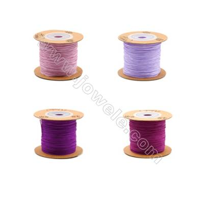 Braided Wire Nylon Threads  Violet 71 Series  Wire Diameter 0.5mm 165 Meters / Coil