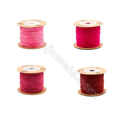 Braided Wire Nylon Threads  Red 72 Series  Wire Diameter 0.8mm 82 Meters / Coil
