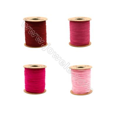 Braided Wire Nylon Threads  Red A Series  Wire Diameter 1.0mm 228 Meters / Coil