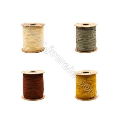 Braided Wire Nylon Threads  Brown A Series  Wire Diameter 1mm 228 Meters / Coil