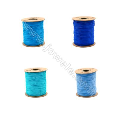 Braided Wire Nylon Threads  Blue A Series  Wire Diameter 1mm 228 Meters / Coil