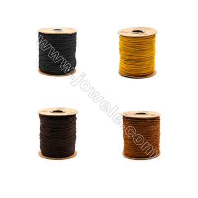 Braided Wire Nylon Threads  Brown B Series  Wire Diameter 1.5mm 123 Meters / Coil
