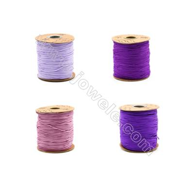 Braided Wire Nylon Threads  Violet B Series  Wire Diameter 1.5mm 123 Meters / Coil