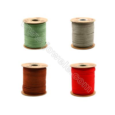 Multicolor Braided Wire Nylon Threads   No.C Series  Wire Diameter 2mm 64 Meters / Coil