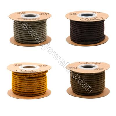 Nylon Threads  Mixed Color  Wire Diameter 3.0mm  8 Meters / Coil