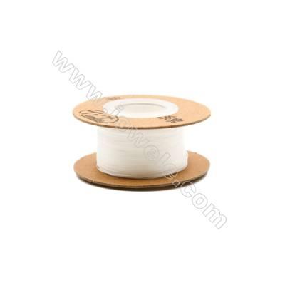 Nylon White Threads  Wire Diameter 0.2mm  50Meters/Coil
