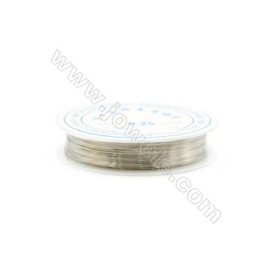 Brass Wire Silver Gold and Black,Wire Diameter 0.2mm  30Meters/Coil  10Coil/pack