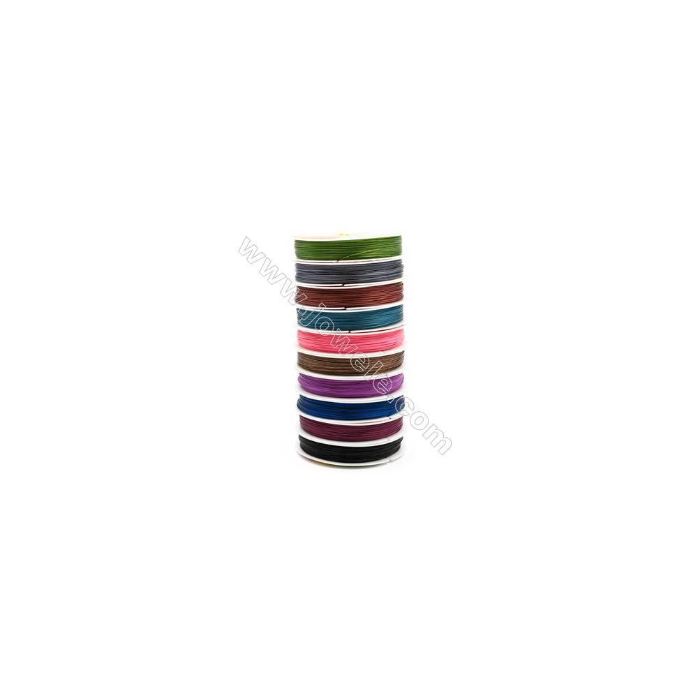 Steel Wire Multicolor,Wire Diameter 0.45mm  50Meters/Coil  10Coil/pack