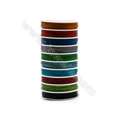 Steel Wire Multicolor,Wire Diameter 0.6mm  25Meters/Coil  10Coil/pack