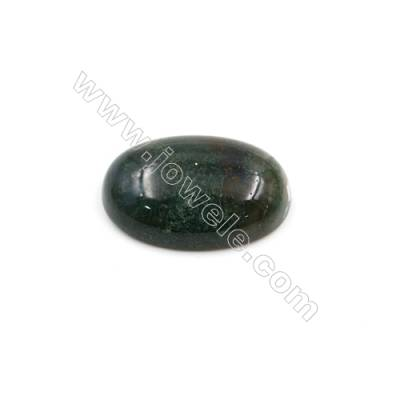 Indian Agate Cabochon  Oval  Size 20x30mm Thick 8mm  20pcs/pack