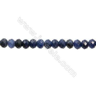 "Natural Sodalite Beads Strands  Abacus(Faceted)  Size 5x8mm  Hole 1mm  15~16""/strand"