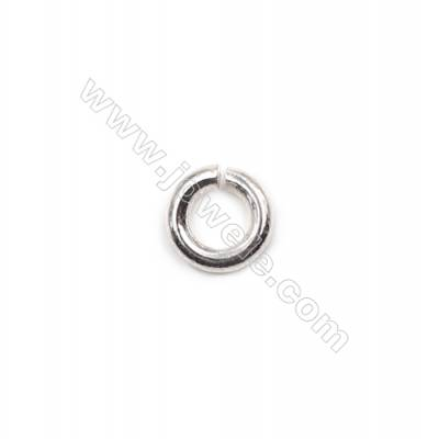 925 sterling silver open jump ring for necklace bracelet jewelry making 1.2x5mm 100pcs/pack